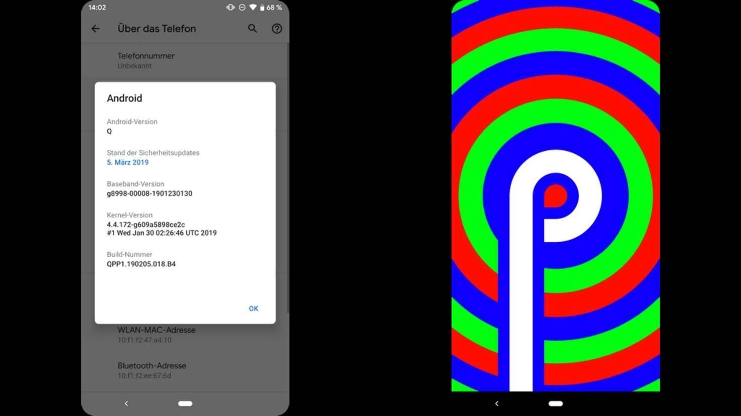 Android Q-beta 03