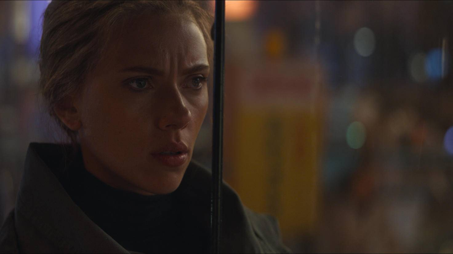"... and Black Widow (Scarlett Johansson) have evolved significantly since the first ""Avengers"" movie in 2012."