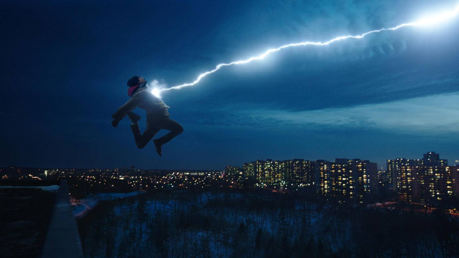Asher Angel as Billy Batson in Shazam