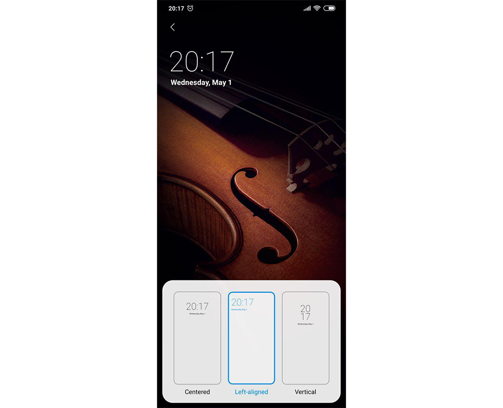 New features that come to MIUI 10 9.5.1. Clock widgets. Xiaomi Adictos News