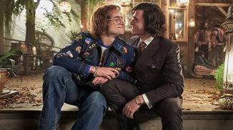 """... and Richard Madden (pictured right) deliver a good performance in """"Rocketman"""" in a double sense!"""