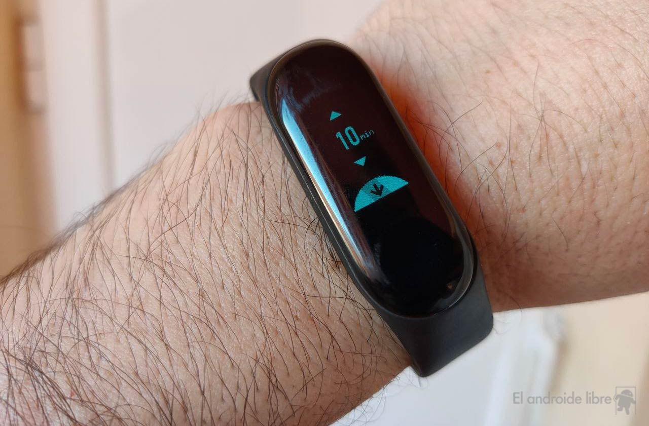 New timer available in the Xiaomi Mi Band 3. Xiaomi News Addicts