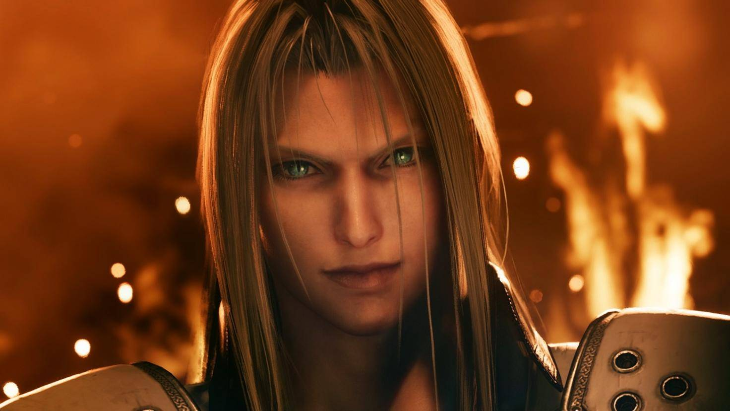 Villain Sephiroth has only appeared in one video sequence so far.