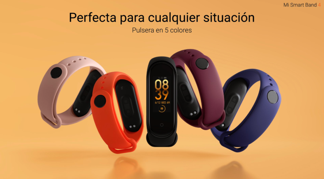 Where to buy the new Xiaomi Mi Smart Band 4 at the best