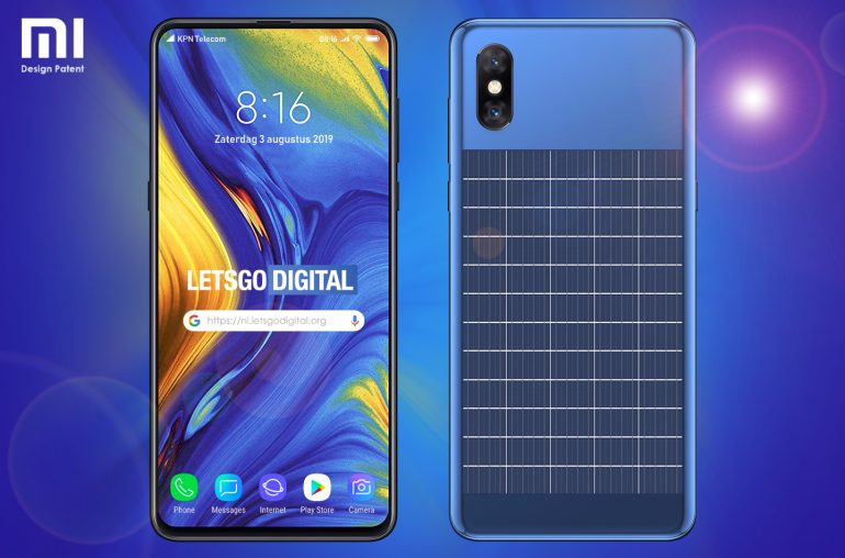 New Xiaomi patent shows smartphone with solar charge. Xiaomi Addicted News