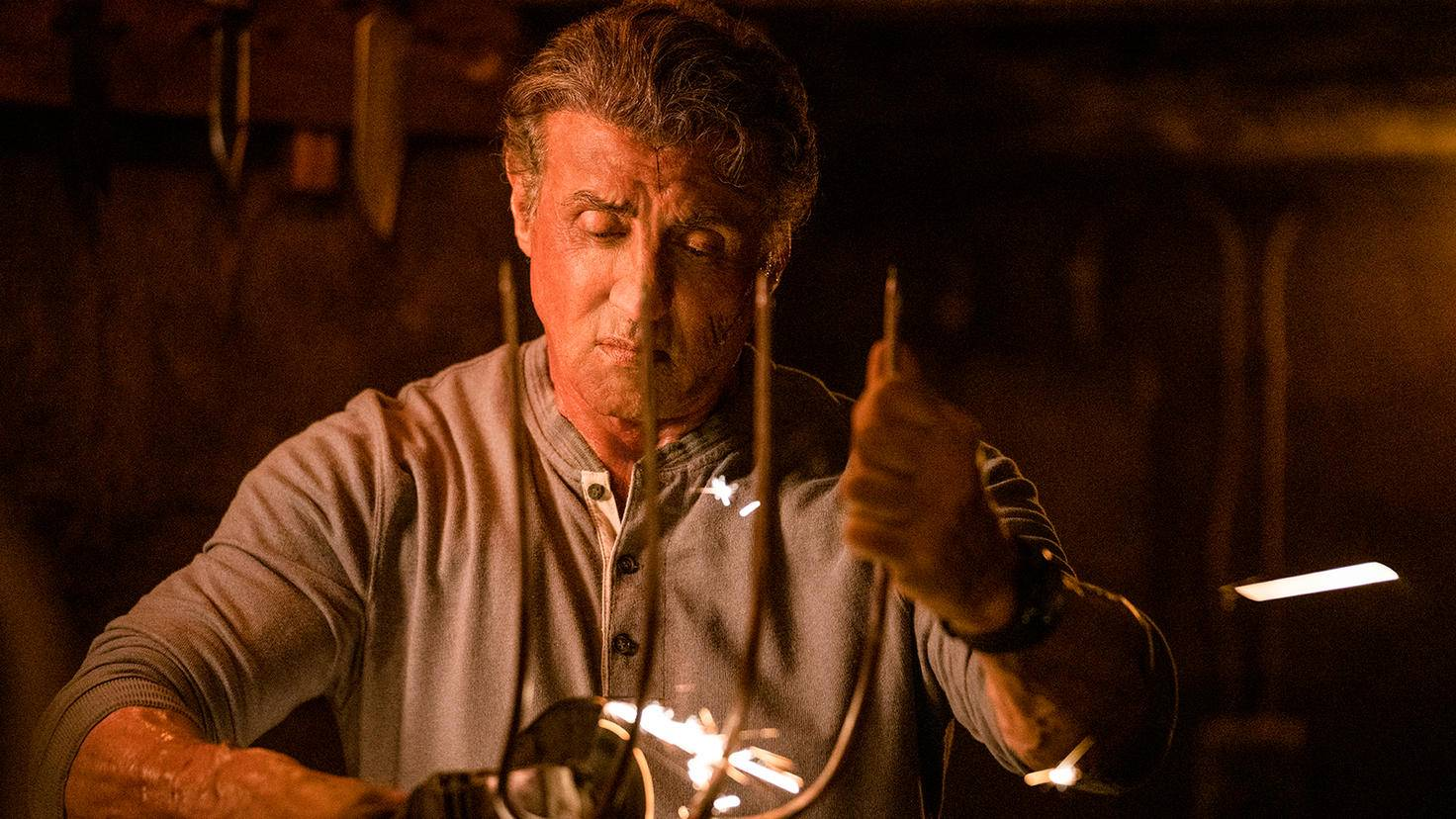"""Sylvester Stallone brings out the pitchfork as John Rambo in """"Rambo 5: Last Blood"""""""