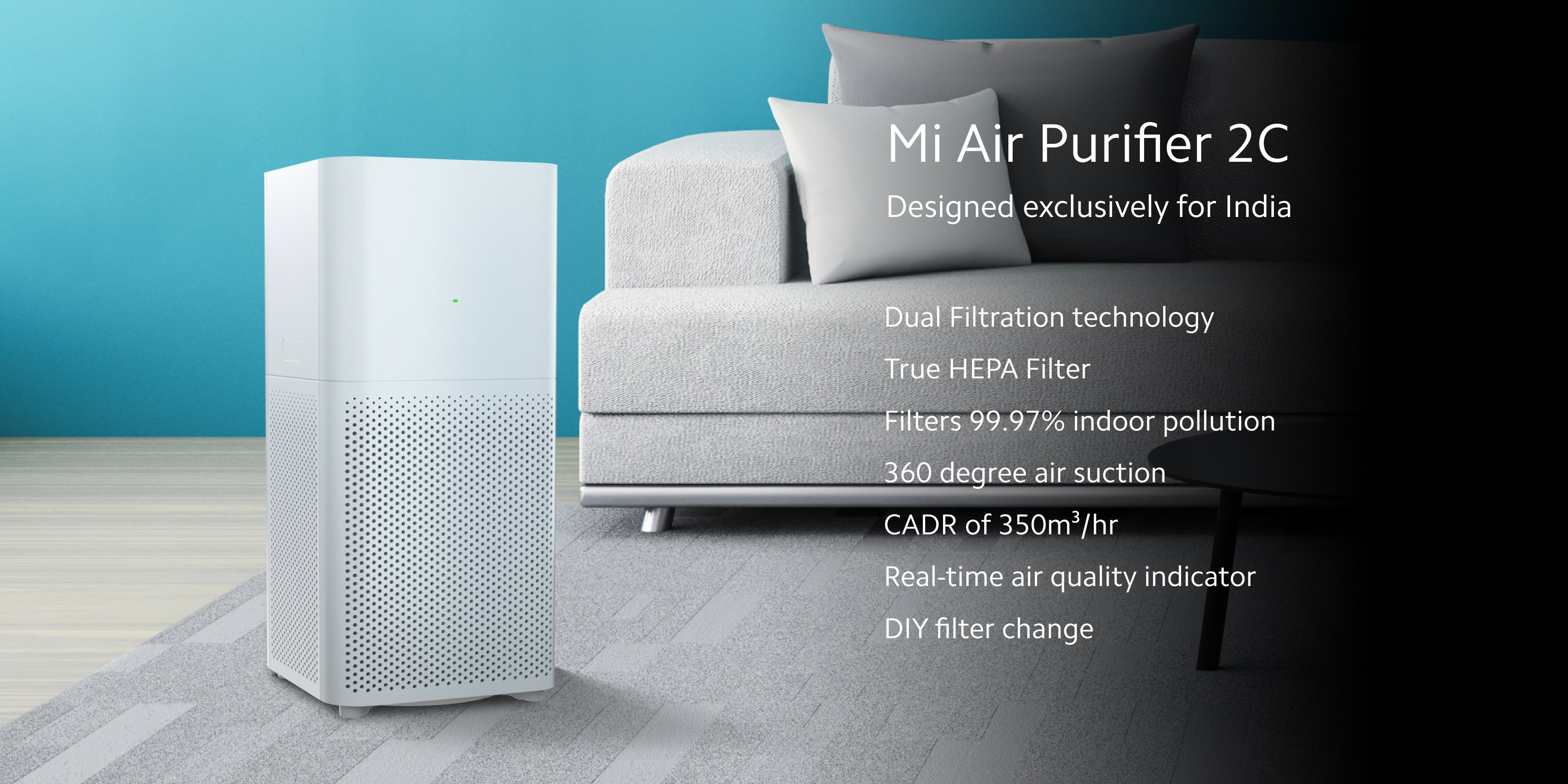 New Xiaomi Mi Air Purifier 2C air purifier even more economical. Xiaomi Addicted News