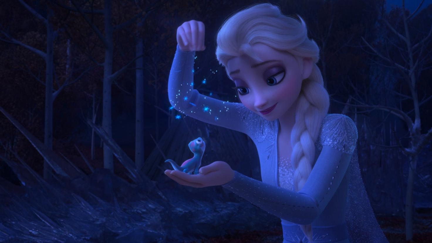 The Frozen 2 Elsa