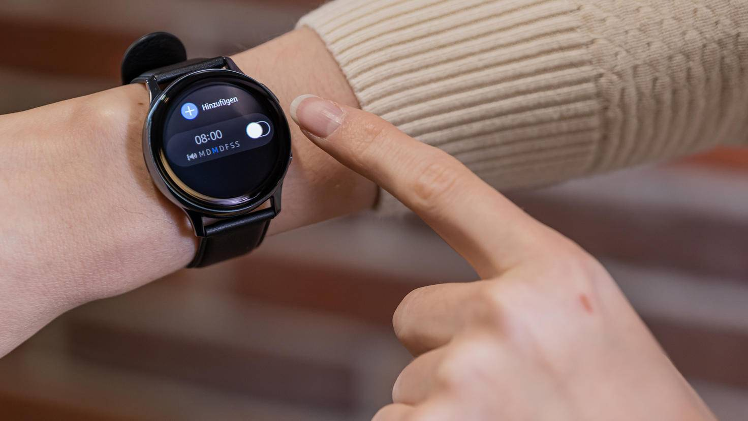 Samsung Galaxy Watch Active 2: alarm clock