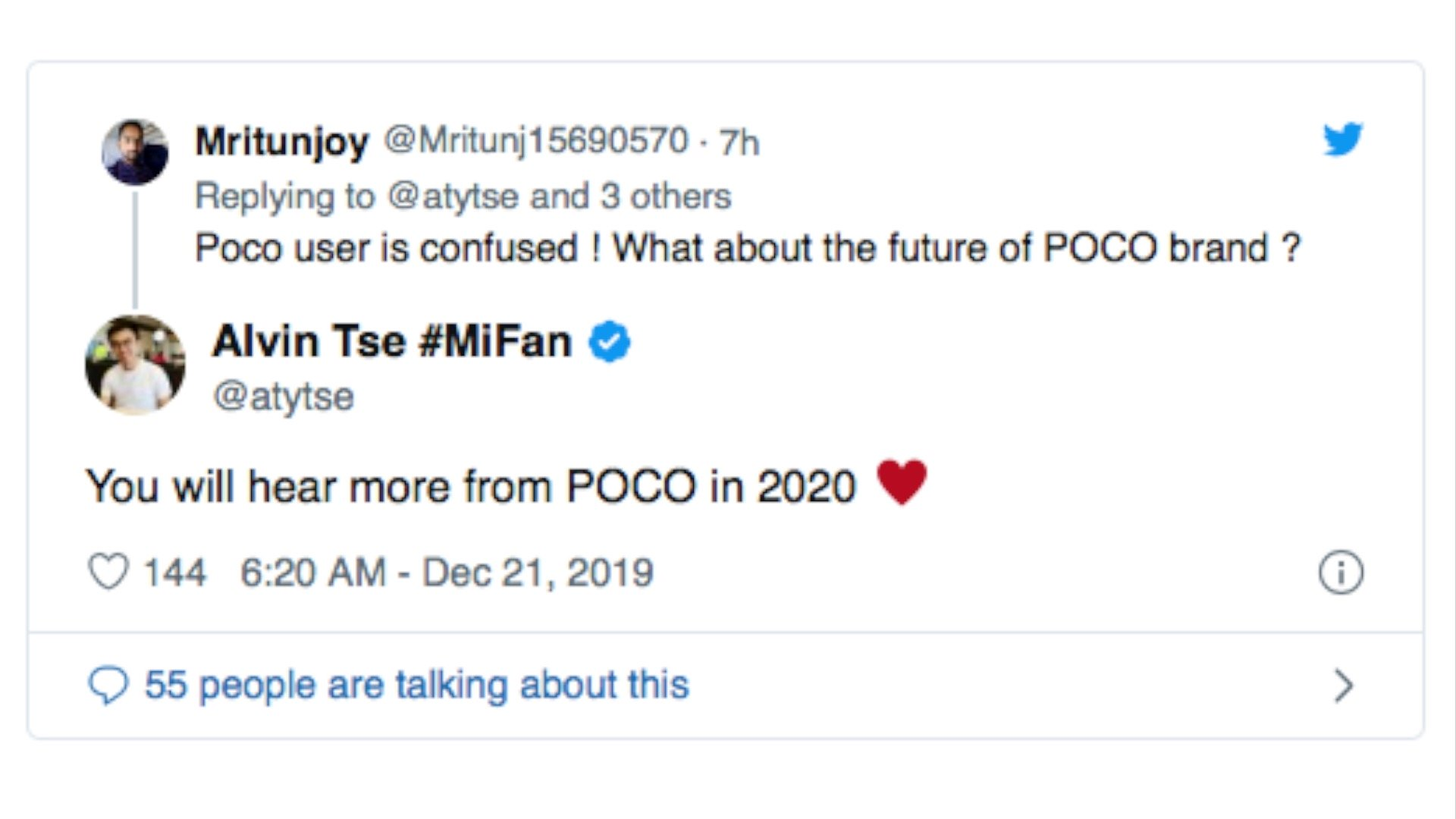 The head of the POCO Team confirms the new POCOPHONE F2. Xiaomi Addicted News