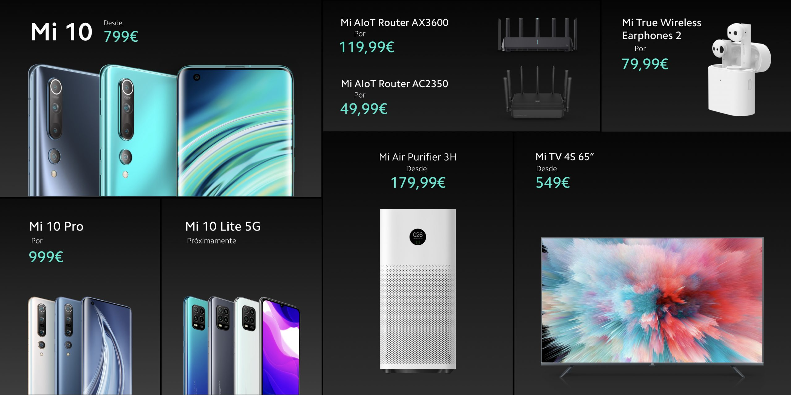 The Xiaomi Mi True Wireless 2, the Mi AIoT Router AX3600 and other gadgets arrive in Spain. Xiaomi Addicts News