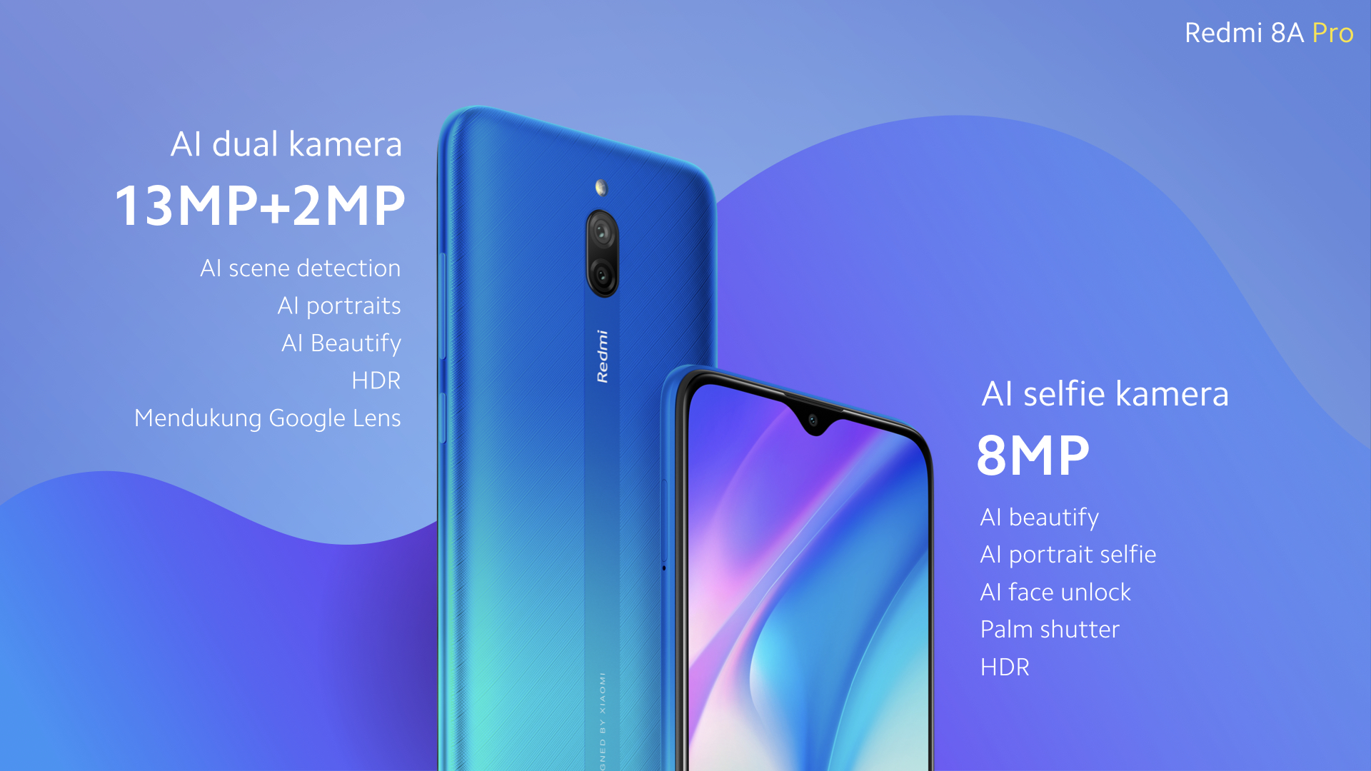 New Redmi 8A Pro: a renowned Redmi 8A Dual that probably won't leave Indonesia
