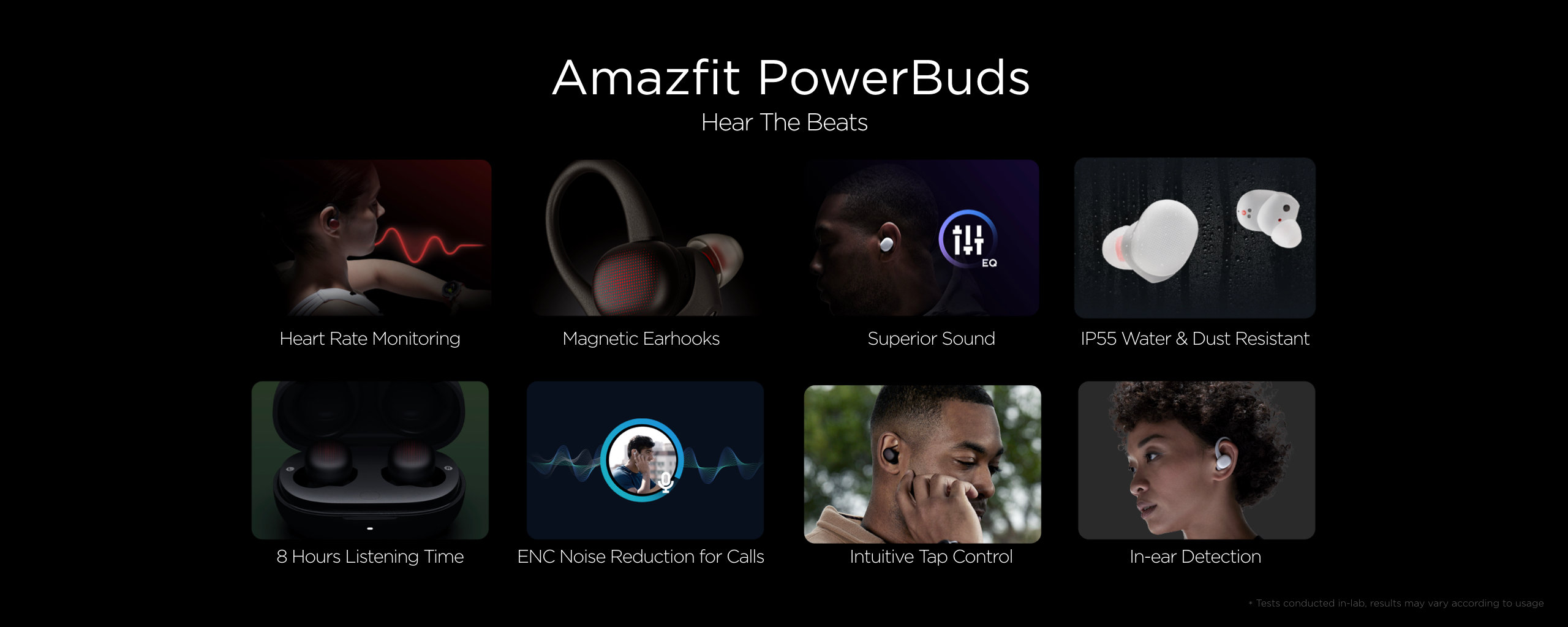 New Amazfit PowerBuds, features, specifications and price. Xiaomi Addicts News