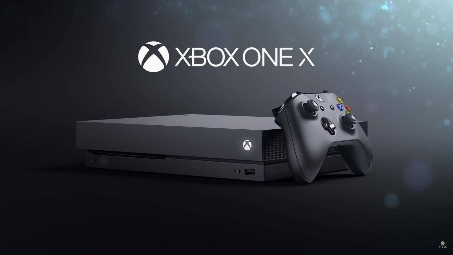 Xbox One X.