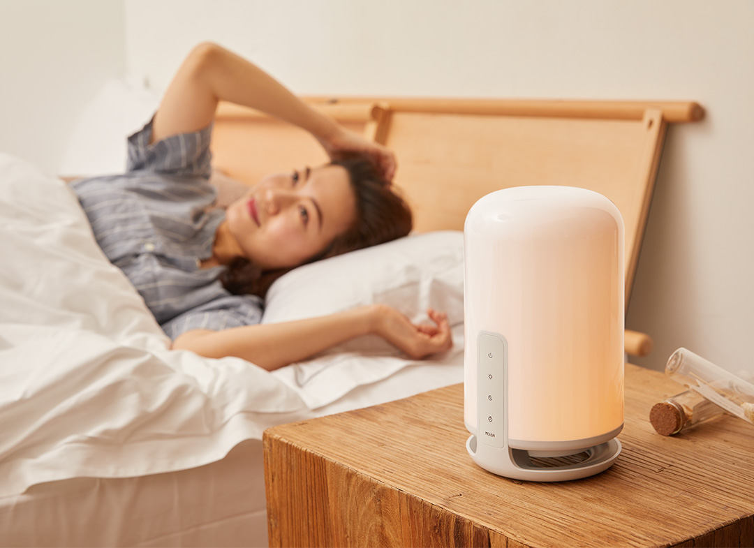 Xiaomi puts on sale an interesting lamp capable of helping us to sleep better simulating sunset and sunrise. News Xiaomi Addicts