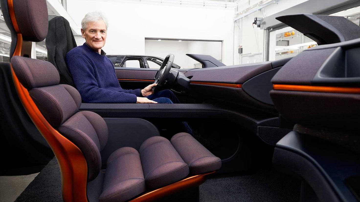 dyson car interior