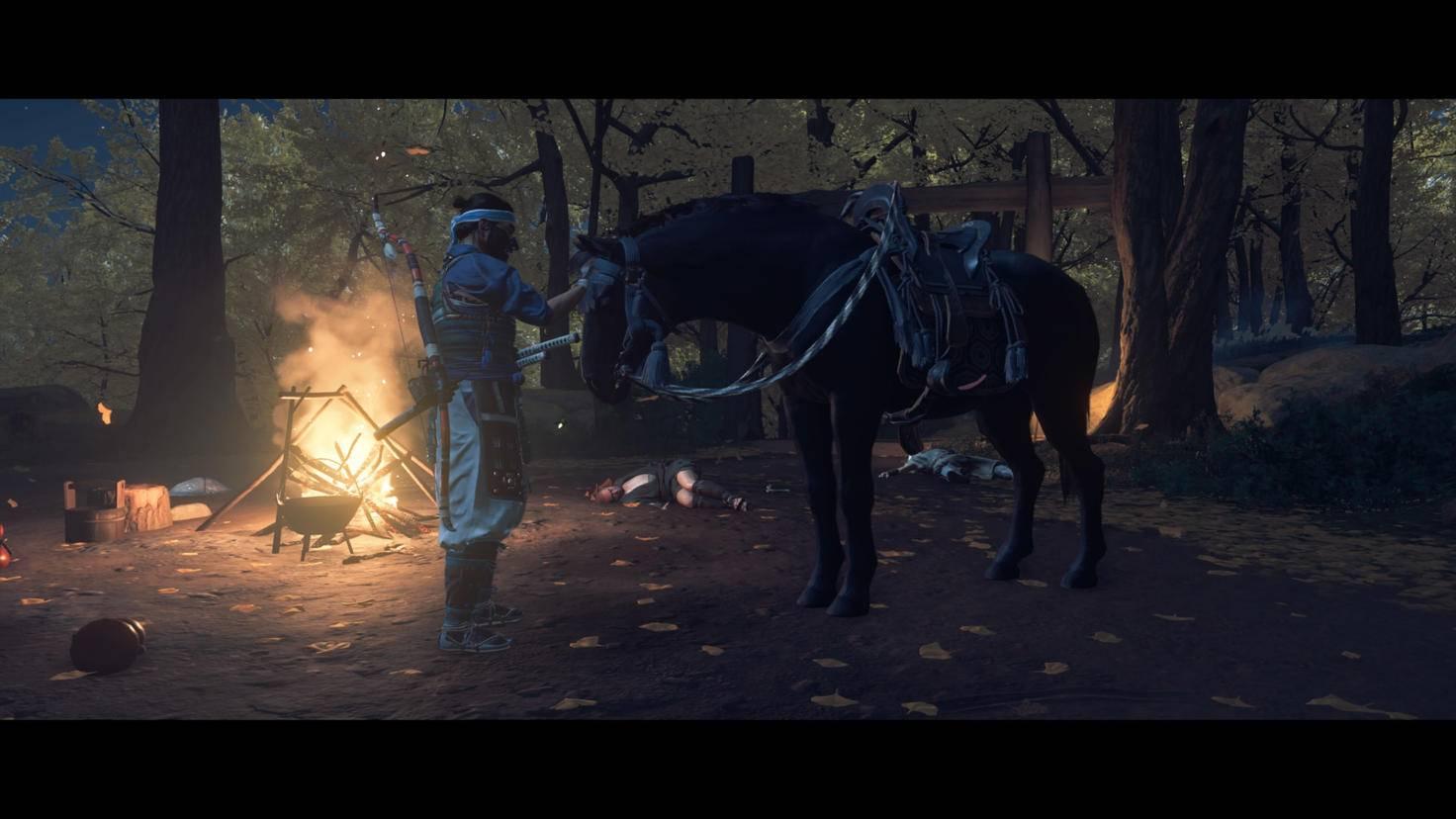 ghost-of-tsushima-horse