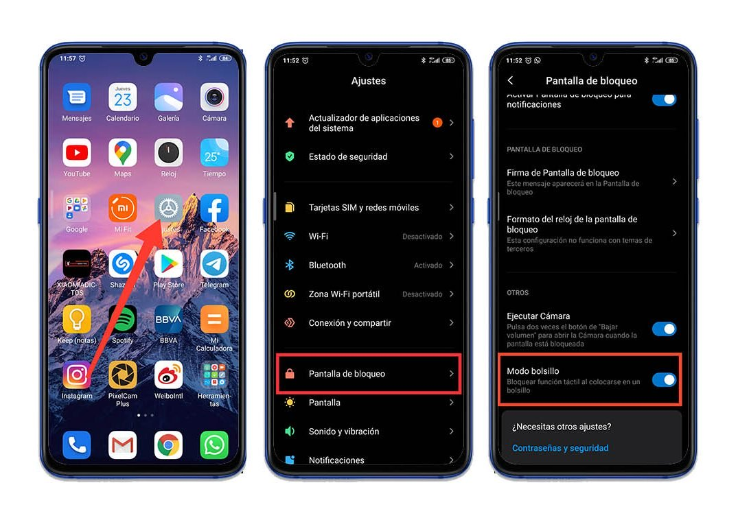 How to activate the pocket mode of your Xiaomi: prevents the screen from turning on unintentionally. Xiaomi Addicts News
