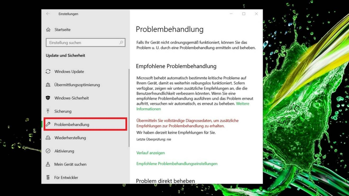 Update Troubleshooter Windows