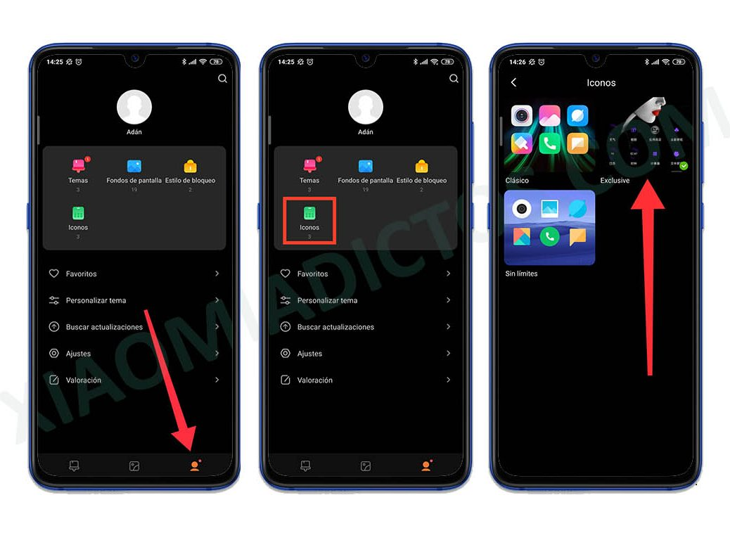 How to change the icons of your Xiaomi without installing other additional applications. news Xiaomi Addicts