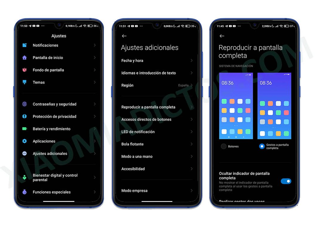remove bottom bar miui 12 xiaomi gestures android 10. News Xiaomi Addicts