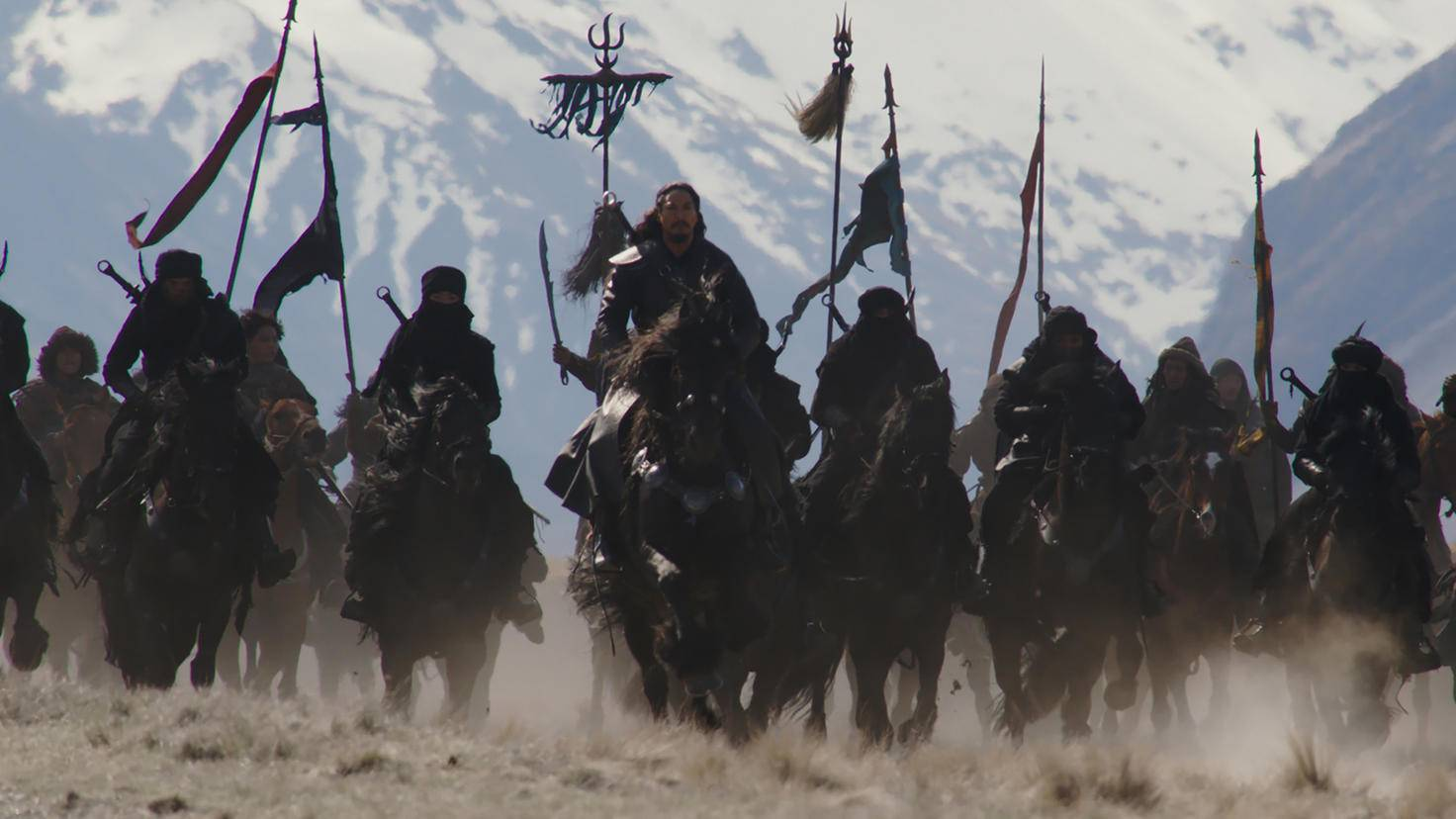 The northern invaders attack.