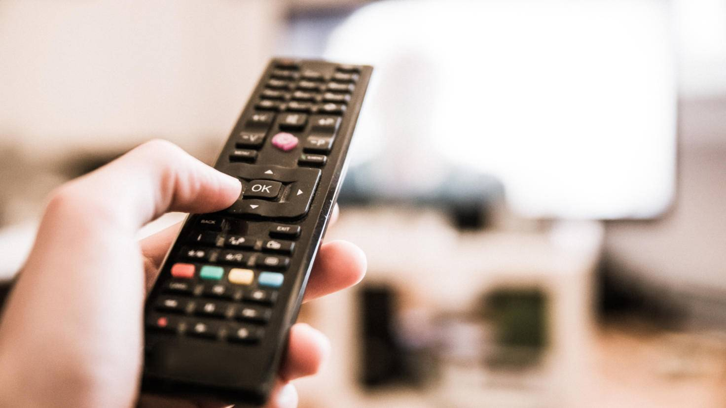 Remote control and television