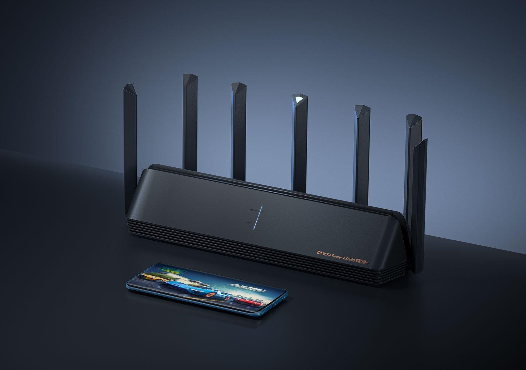Nuevo Xiaomi Router AX6000: hasta 4804Mbps y un puerto Ethernet de 2500MB. Noticias Xiaomi Adictos