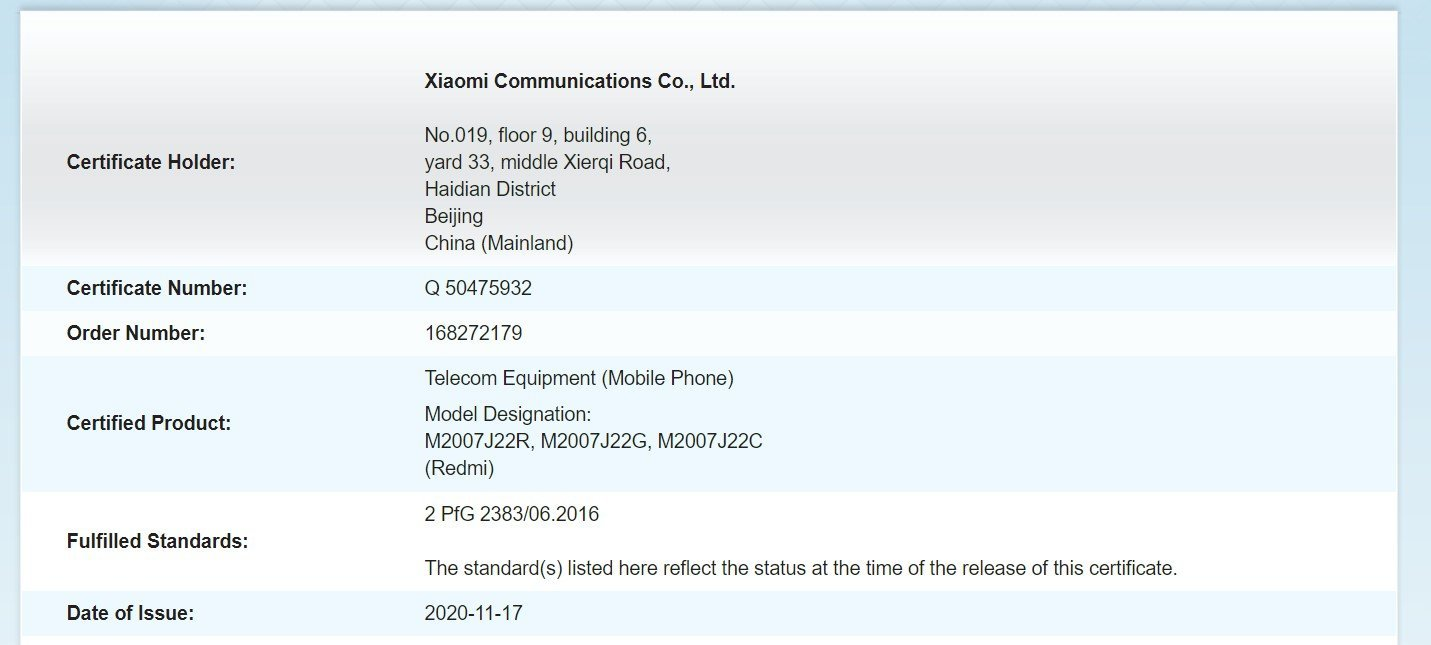 Redmi Note 9T shows signs of life again predicting an imminent launch. News Xiaomi Addicts