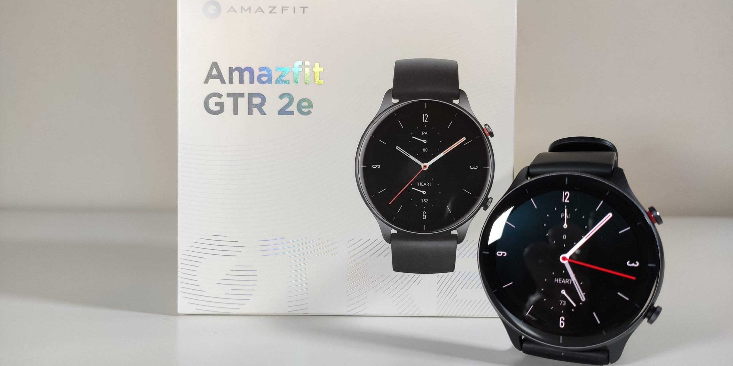 Unboxing and first impressions of the new Amazfit GTR 2e. News Xiaomi Addicts