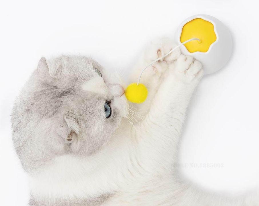 Mantén a tu gato entretenido durante horas con este gadget que vende Xiaomi. Noticias Xiaomi Adictos