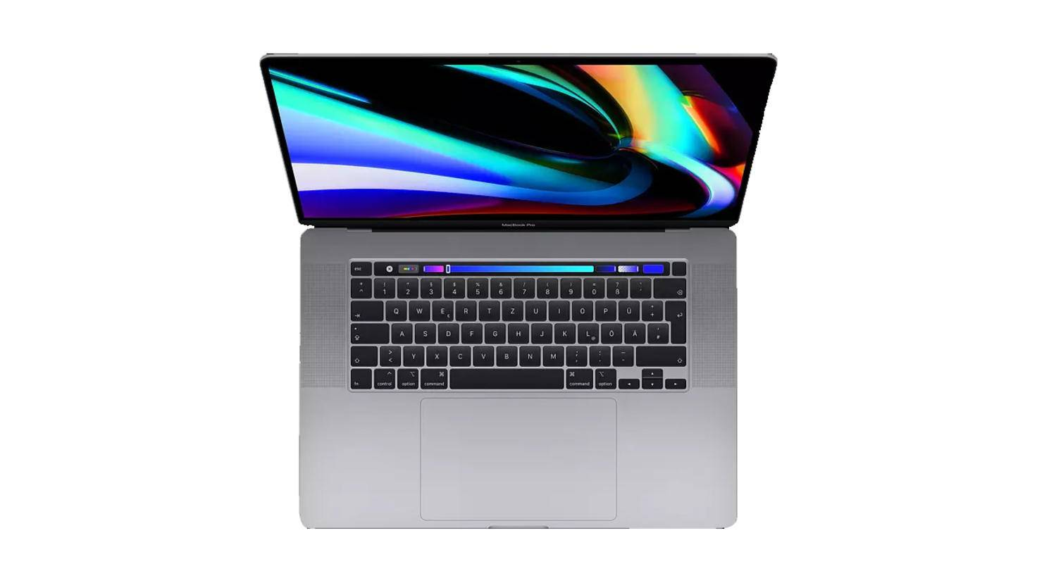 apple macbook pro 16 inch laptop video editing