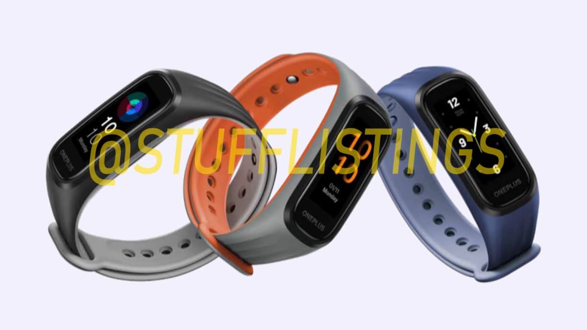 The Xiaomi Mi Band gets a new competitor from the hand of OnePlus. News Xiaomi Addicts