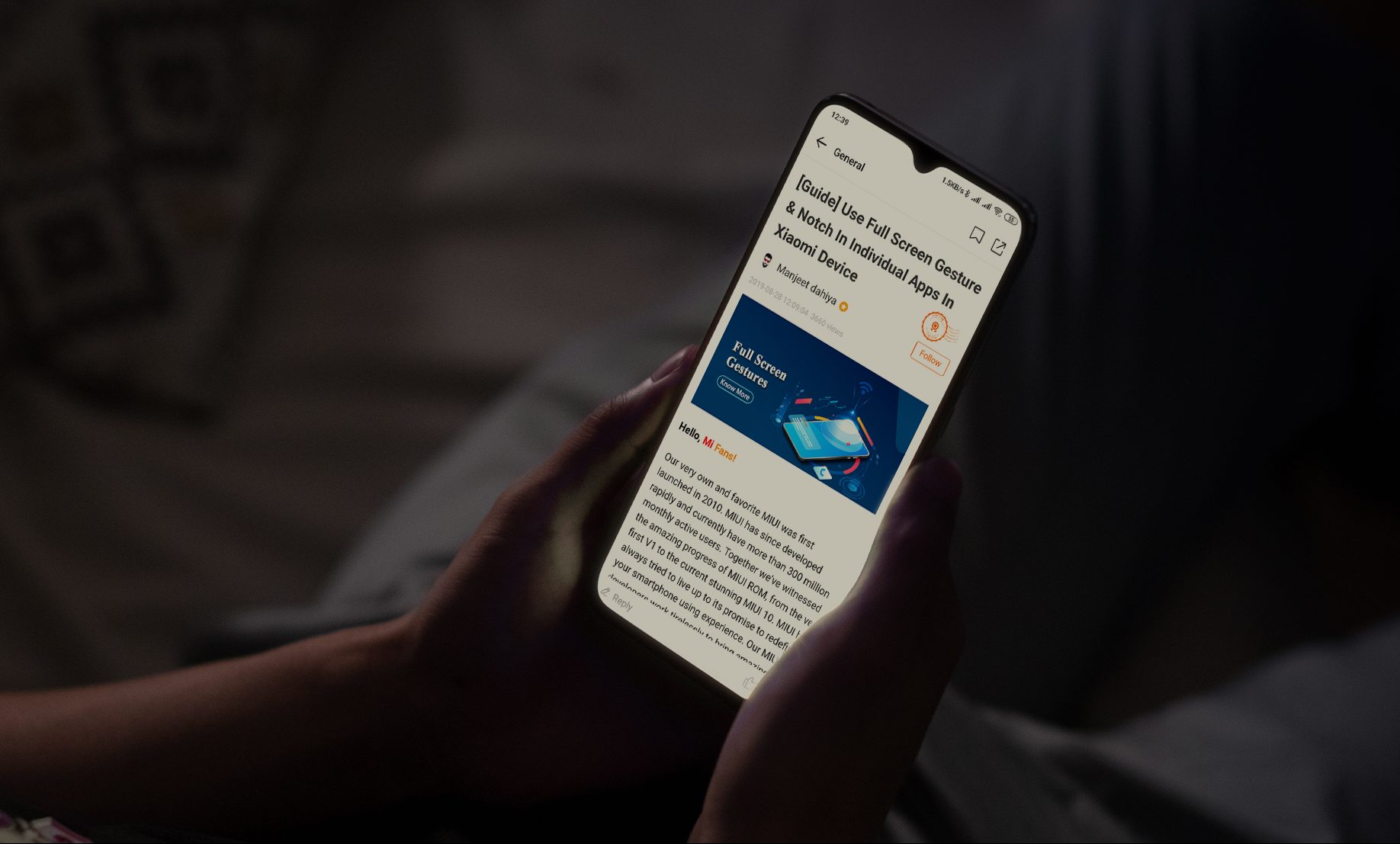 Qué es y como activar modo lectura xiaomi simulando el papel. Noticias Xiaomi Adictos