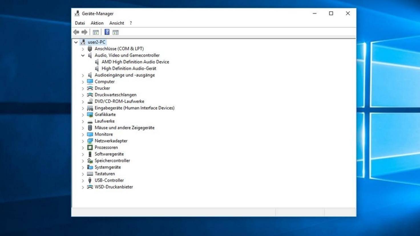 Windows 10 sound driver