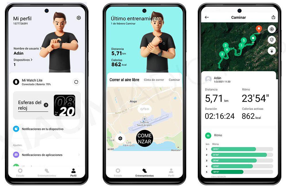 Xiaomi Mi Watch Lite, nuestra opinión y análisis del smartwatch barato de Xiaomi. Noticias Xiaomi Adictos
