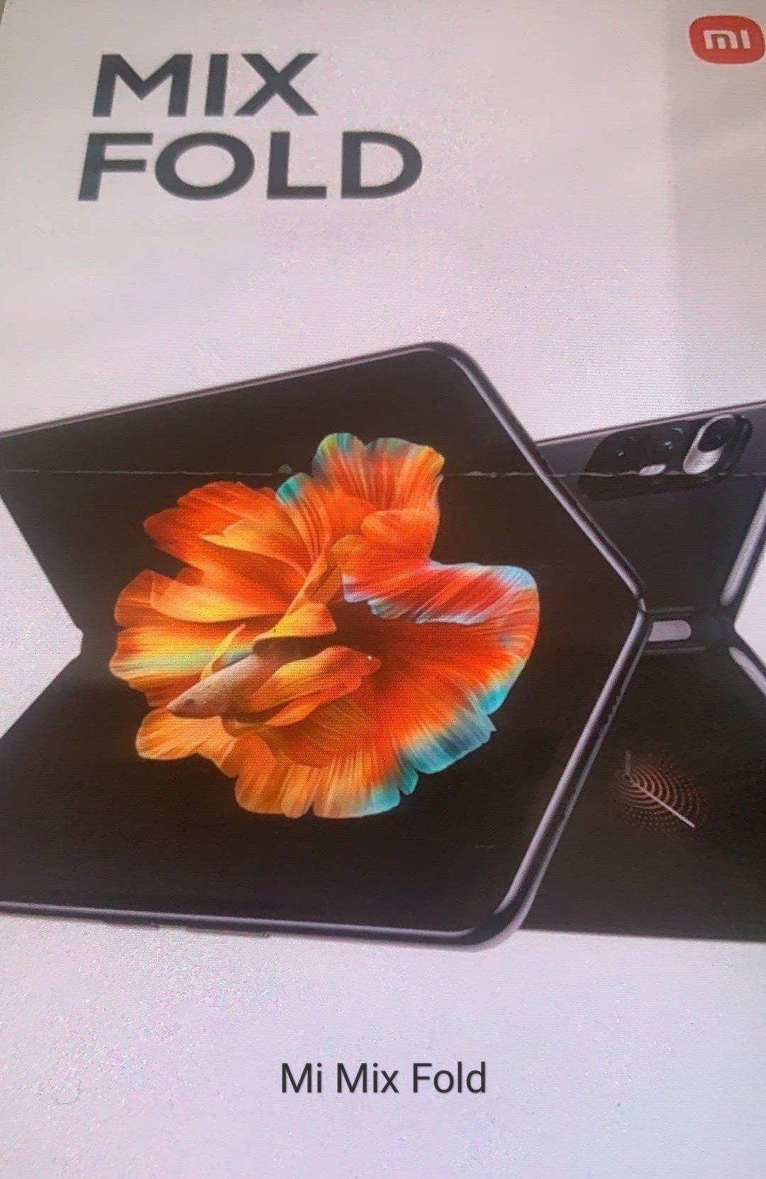 Xiaomi Mi Mix Fold, el plegable de Xiaomi se deja ver horas antes de ser presentado. Noticias Xiaomi Adictos