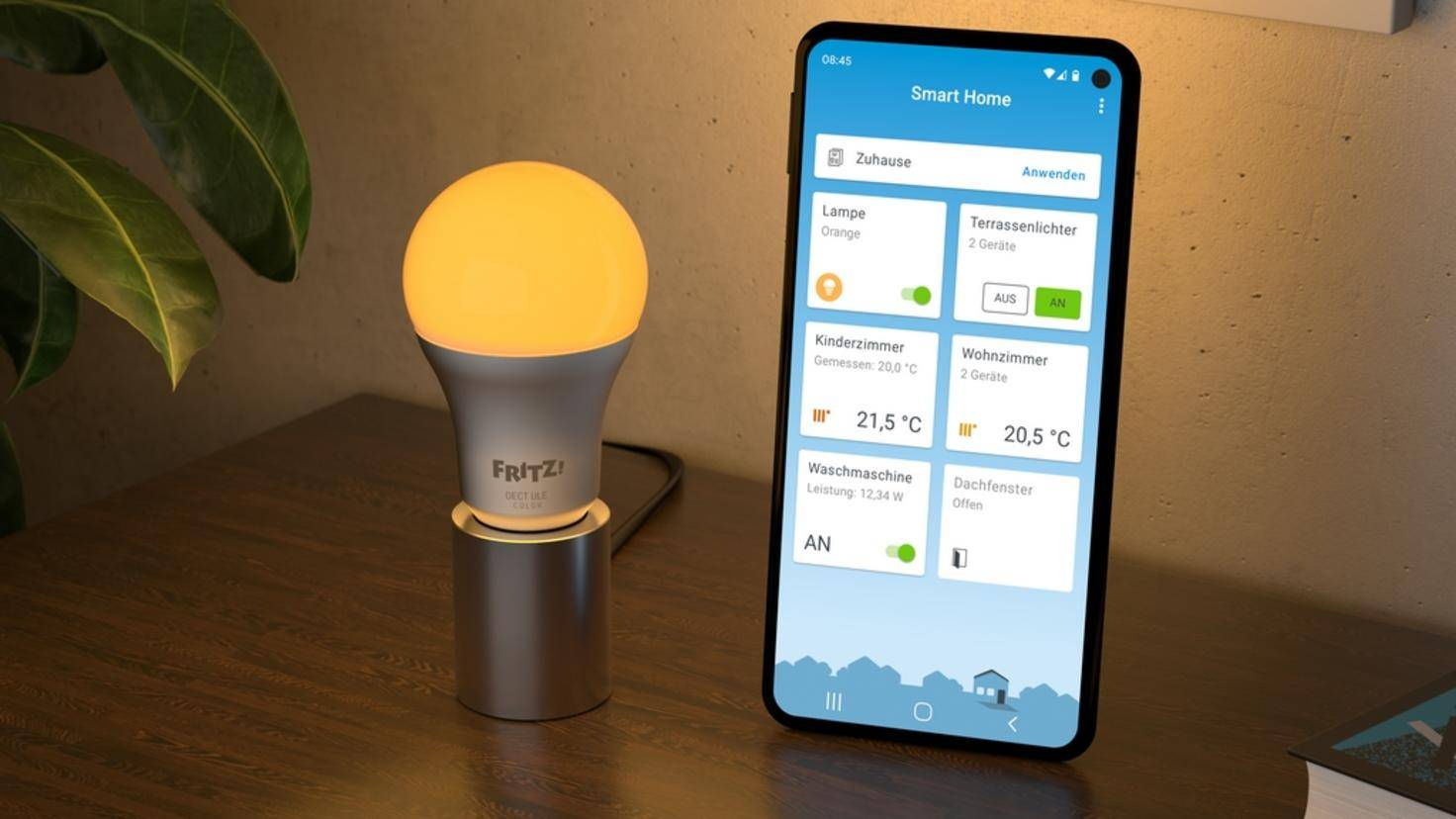 FRITZ! DECT 500 and FRITZ! App Smart Home