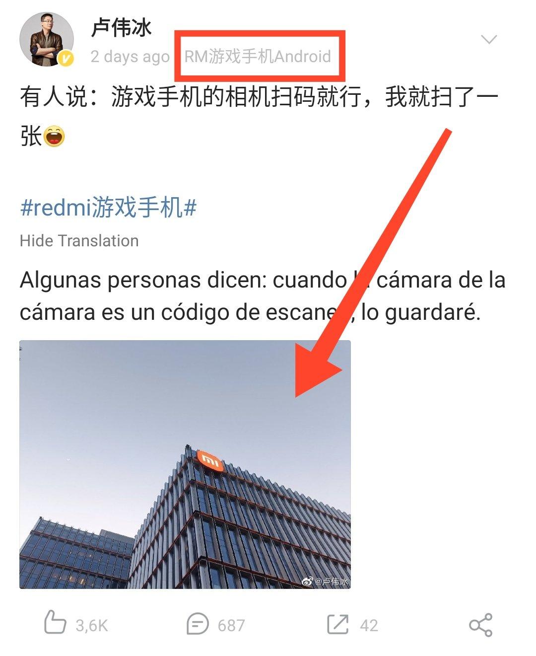 El móvil gaming de Redmi no solo destacará con su rendimiento en juegos. Noticias Xiaomi Adictos