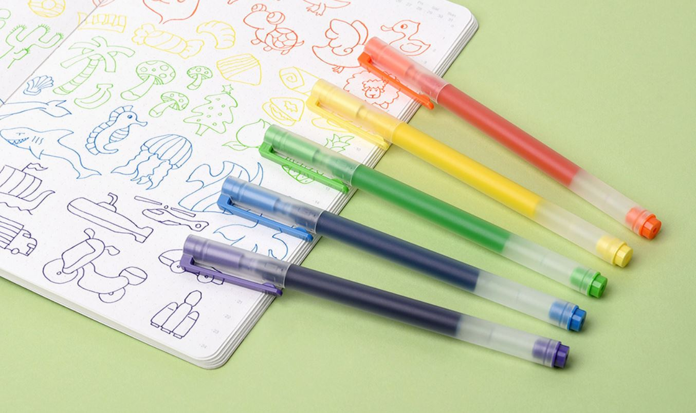 These colored pens are from Xiaomi and promise to last longer than you might imagine. News Xiaomi Addicts