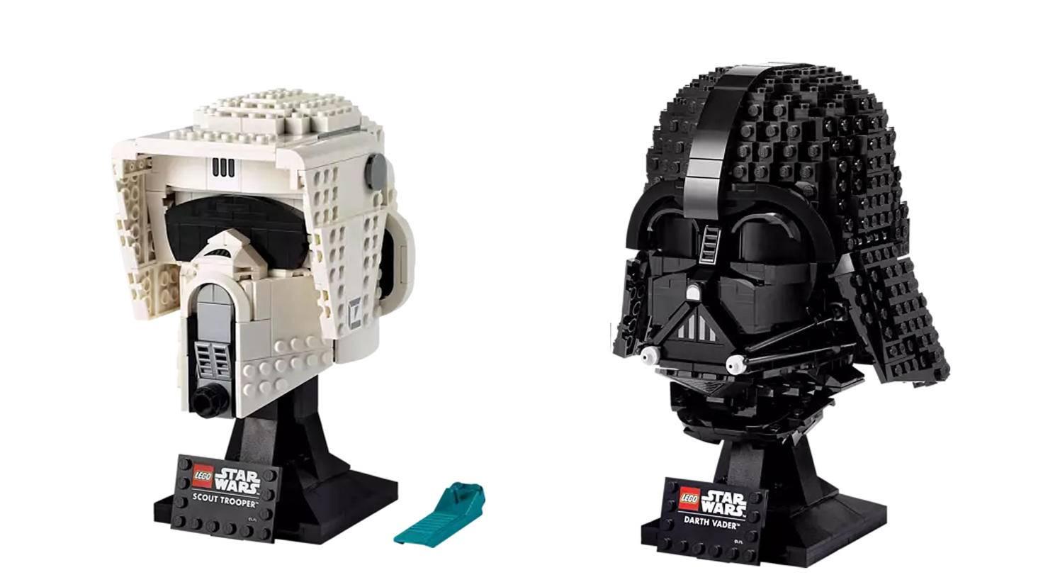 Scout Trooper Darth Vader Lego