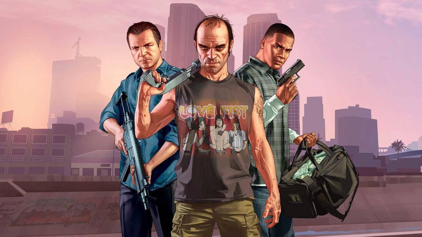 GTA 5 Rockstar Games
