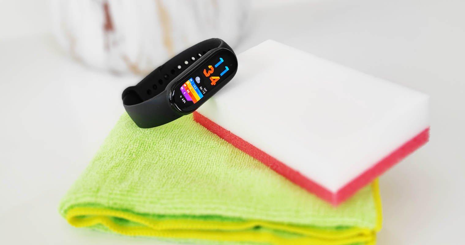 Cómo limpiar tu Xiaomi Mi Band y dejar su correa como el primer día. Noticias Xiaomi Adictos
