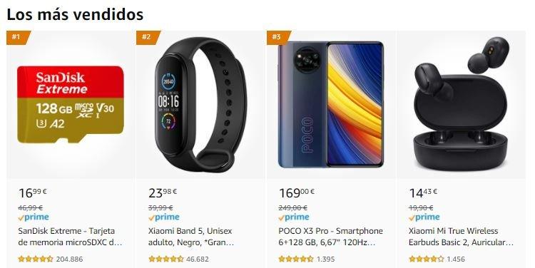 El smartphone más vendido del Amazon Prime Day es un Xiaomi y vale apenas 169 euros. Noticias Xiaomi Adictos