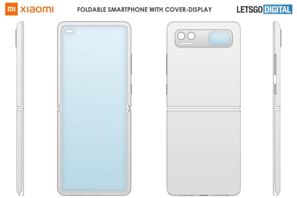 Así luciría el diseño del Xiaomi Mi Mix Flip tras su última patente. Noticias Xiaomi Adictos