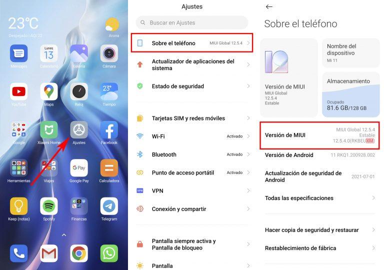 Cómo saber si tu Xiaomi cuenta con MIUI oficial o una ROM de operador. Noticias Xiaomi Adictos